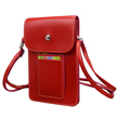 (Red) Vertical Savvy Crossbody Bag