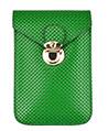 (Green) Buckle Clasp Vertical Cros