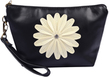 Flower Accent Carrying Pouch