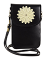 Flower Touch Screen Crossbody Pouch