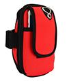 (Red) Neoprene Zipper Pouch Workou