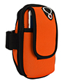 (Orange) Neoprene Zipper Pouch Wor