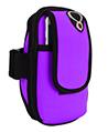 (Purple) Neoprene Zipper Pouch Wor
