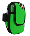 (Green) Neoprene Zipper Pouch Work