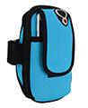 (Aqua) Neoprene Zipper Pouch Worko