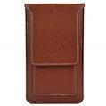 (Brown) Vertical Wallet Carrying P