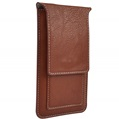 (Brown) Vertical Wallet Carrying P