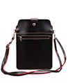 (Black/Magenta) Vertical Crossbody