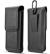 Vertical Universal Leather Mega Case with Clip O