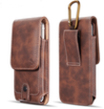 Mega 6.3 G Flex Vertical Universal Leather Pouch