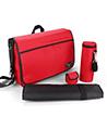 (Red) Vangoddy Casy Baby Diaper Bag