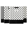 Black-White Collection Gift Bag (Medium)