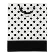 (Polka Dot) Black-White Collection Gift Bag (Med