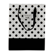 (Polka Dot) Black-White Collection Gift Bag (Sma