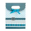 (Blue) Buckle Bow Gift Bag (Medium