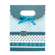 (Blue) Buckle Bow Gift Bag (Small)