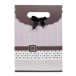 (Mauve) Buckle Bow Gift Bag (Small)