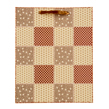 (Honeycomb) Checker Quilt Gift Bag (Small)
