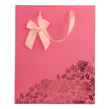 (Rose) Flowers and Bow Gift Bag (Small)