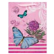 (Pink) Vintage Butterfly Gift Bag
