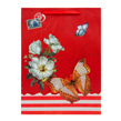 (Red) Vintage Butterfly Gift Bag (Small)