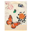 Ivory Vintage Butterfly Gift Bag (Small)