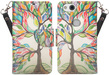 (Colorful Tree) Wallet Stand Case for G
