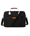 Laptop Bag with Handle, 15 Inch Black