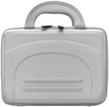 (Silver) Hard Shell Cube 10 Carrying case