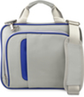 Pin 15 Silver and Blue Shoulder Strap Carrying C