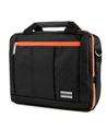 (Orange) El Prado Laptop Messenger