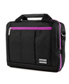 (Purple) El Prado Laptop Messenger
