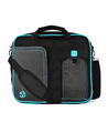 (Aqua) Pindar VanGoddy Messenger Bag (Large)