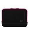 (Black/Pink) Microsuede 13 Carrying Sleeve