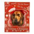 (Tan Dachshund) Dog Collection Christmas Ball Or