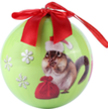 (Chipmunk) Animal Collection Christmas Ball Orna