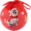 (Pomeranian Dog) Animal Collection Christmas Bal
