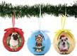 Dog Collection Twinkling Lights Christmas Ball O