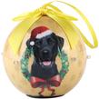 (Black Labrador) Dog Collection Twinkling Lights