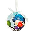 Twinkling Lights Christmas Ball Ornament