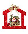 (House) Santa Clause Hanging Christmas Ornament