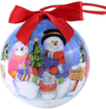 (Family) Snowman Collection Christmas Ball Ornam