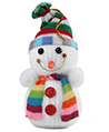 Snowman Christmas Hanging Ornament