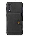 Cellphone Wallet Case for Samsung A50 Black