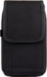 (Black) Vertical Nylon Holster Pou