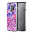 (Pink Paradise) Waterfall Case for Galaxy S9 Pl