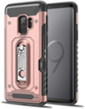 Pink Hybrid Case with Card Slot And Stand for S