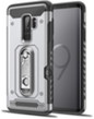 Silver Hybrid Case with Card Slot
