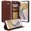 (Brown) Wallet Stand Case for Samsung G