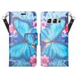 (Butterfly Flower) Wallet Stand Case fo